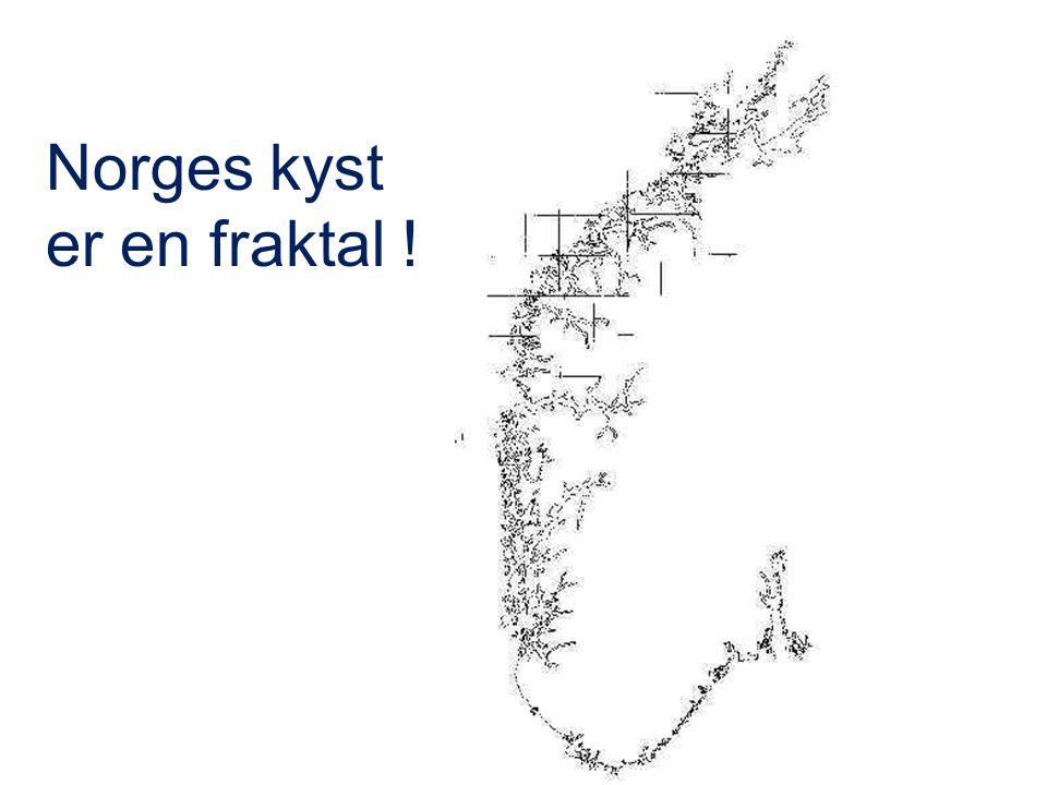 Norges kyst er en fraktal !