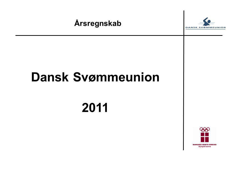 Årsregnskab Dansk Svømmeunion 2011