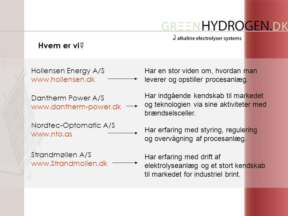 Hollensen Energy A/S www.hollensen.dk Har en stor viden om, hvordan man leverer og opstiller procesanlæg.