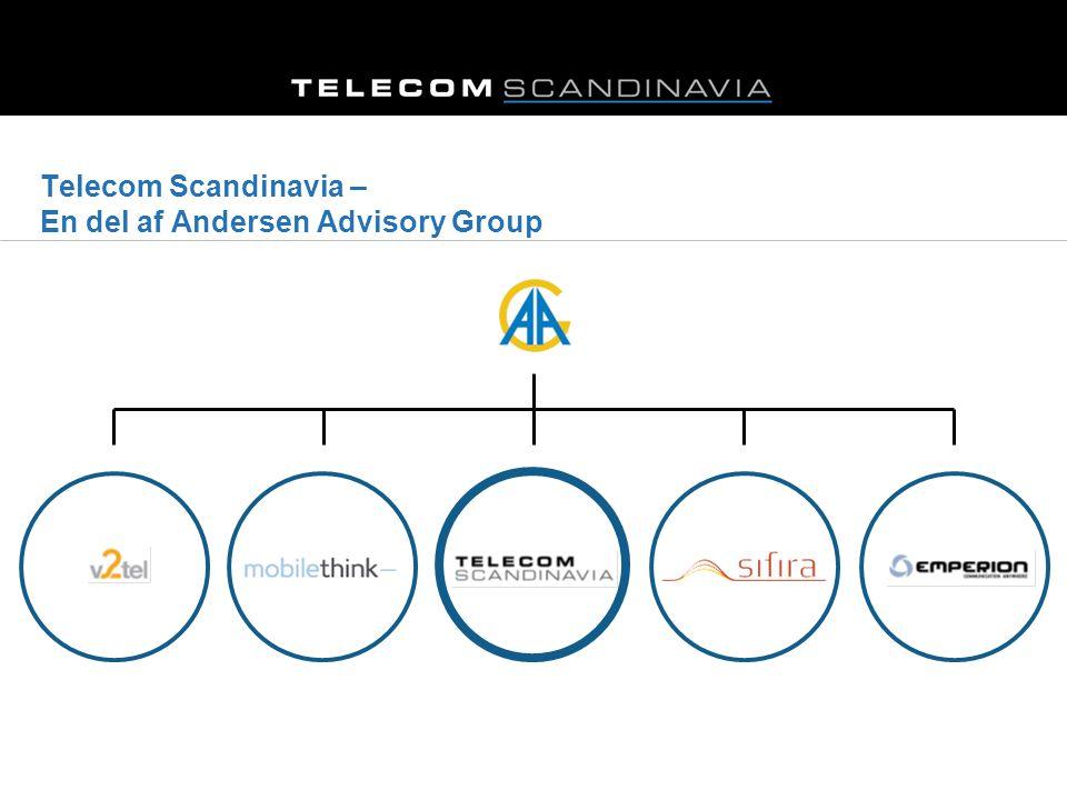 Telecom Scandinavia – En del af Andersen Advisory Group