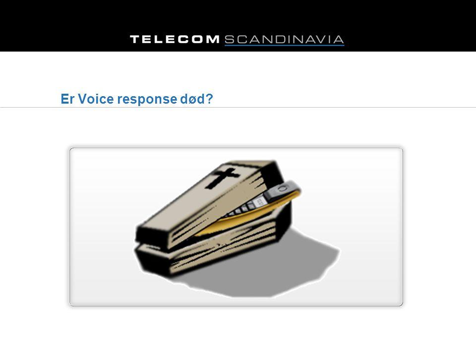 Er Voice response død