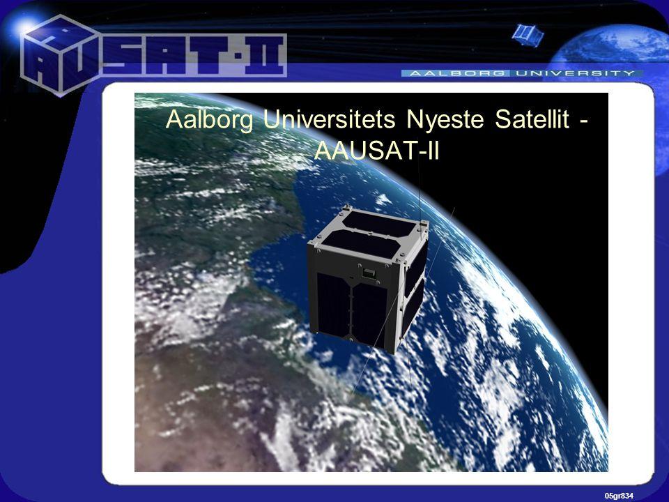 05gr834 Aalborg Universitets Nyeste Satellit - AAUSAT-II