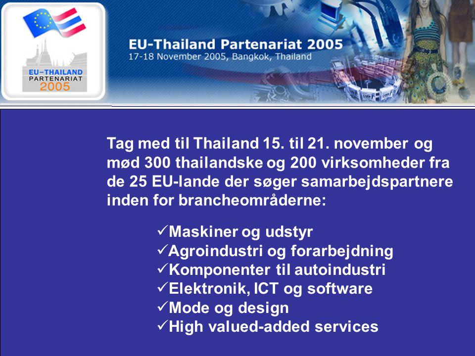 Tag med til Thailand 15. til 21.