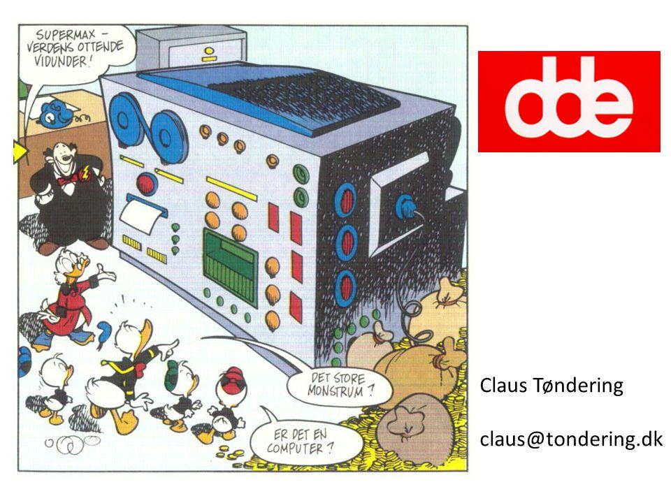 Claus Tøndering claus@tondering.dk