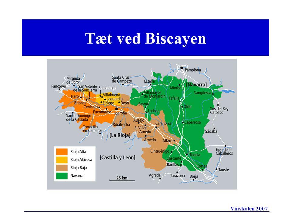 Tæt ved Biscayen Vinskolen 2007