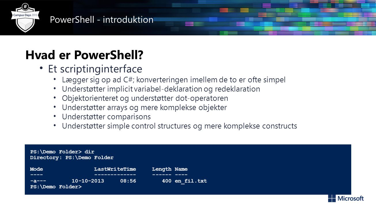 Hvad er PowerShell.