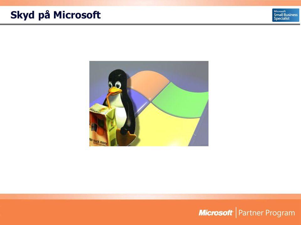 Skyd på Microsoft