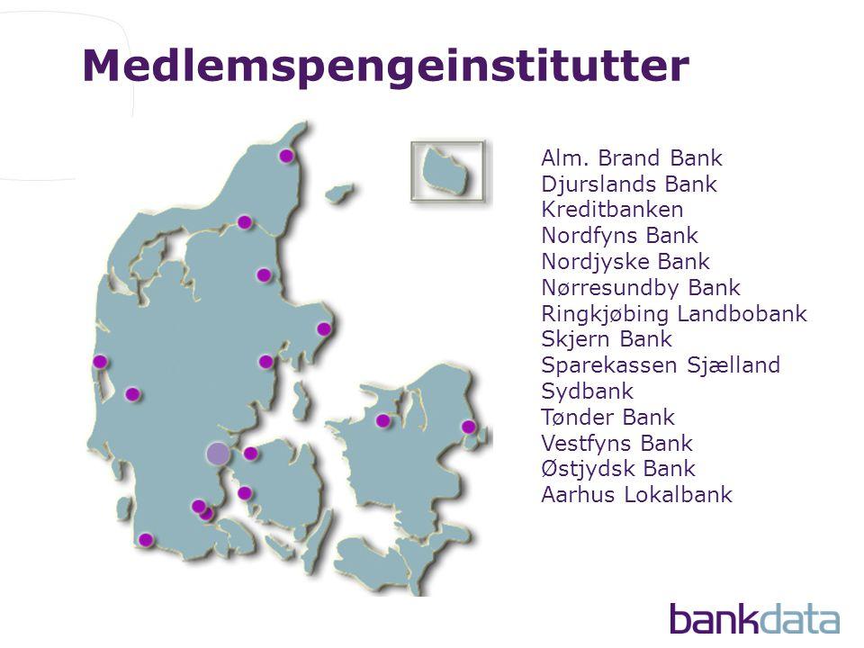 Medlemspengeinstitutter Alm.
