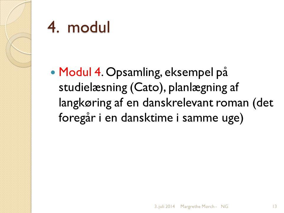 4. modul  Modul 4.