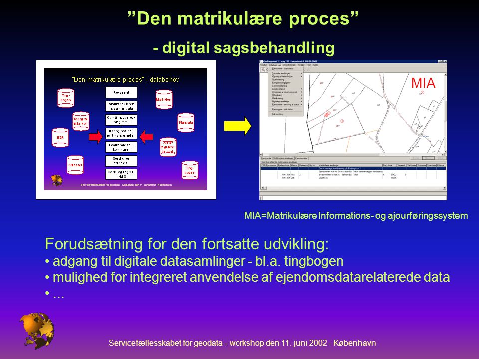 Servicefællesskabet for geodata - workshop den 11.