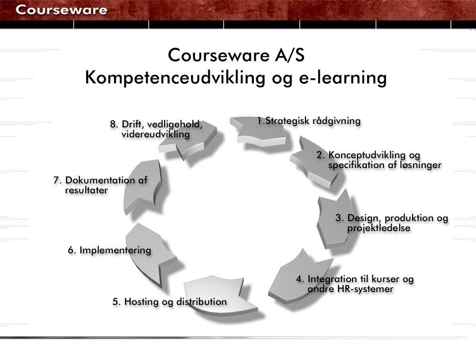 Courseware A/S Kompetenceudvikling og e-learning