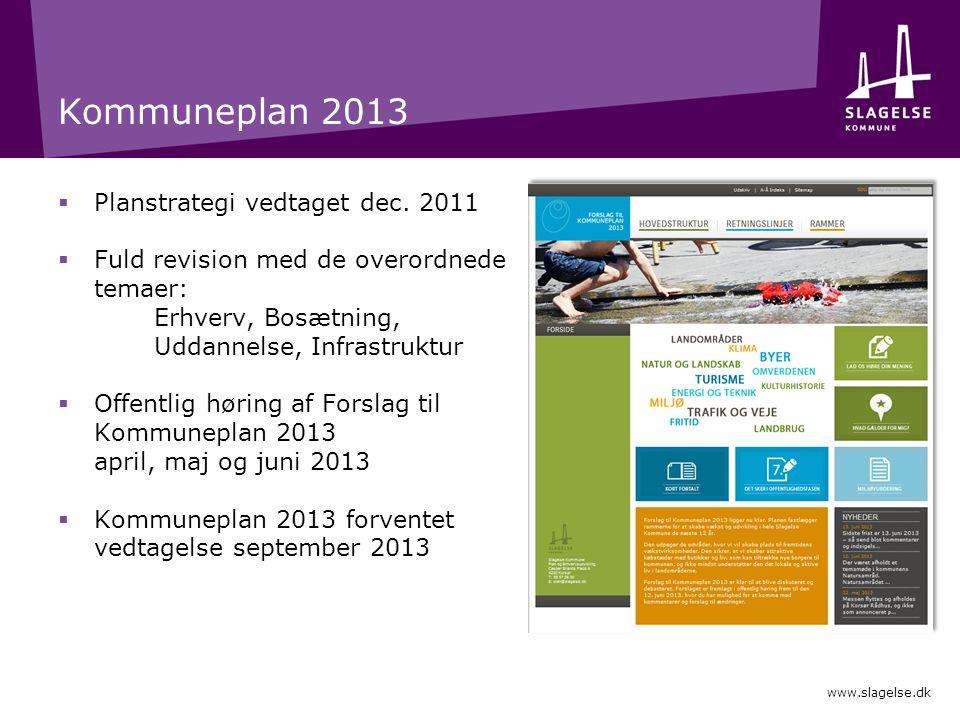Kommuneplan 2013  Planstrategi vedtaget dec.