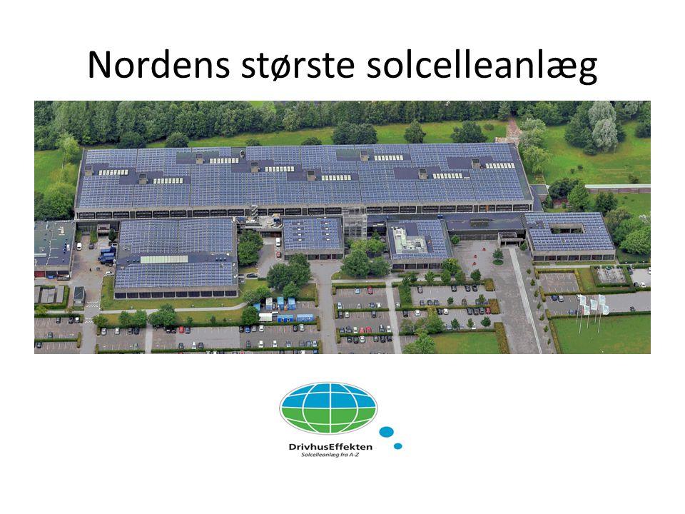 Nordens største solcelleanlæg