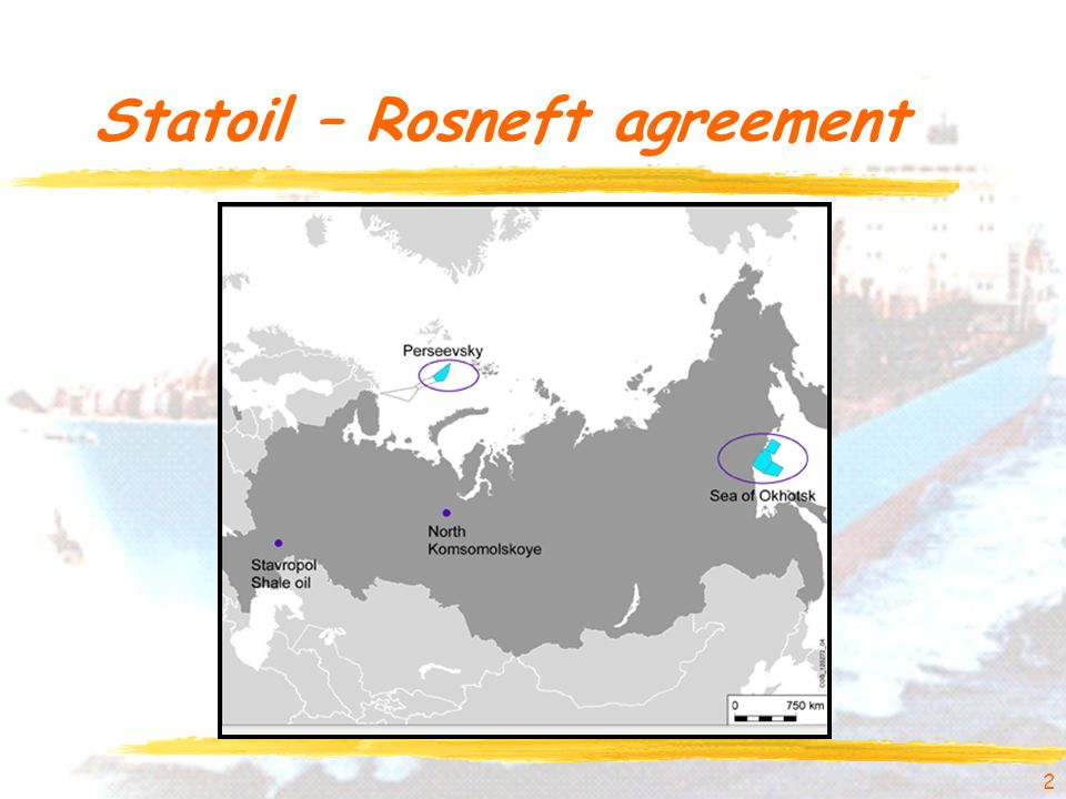 Statoil – Rosneft agreement 2
