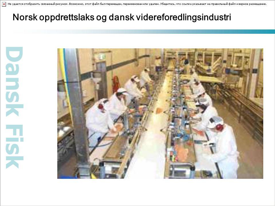 Dansk Fisk Norsk oppdrettslaks og dansk videreforedlingsindustri