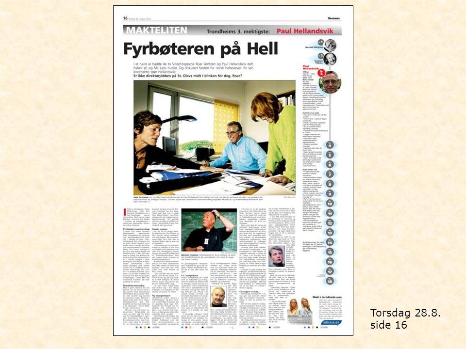 Lørdag 6.9. side 1