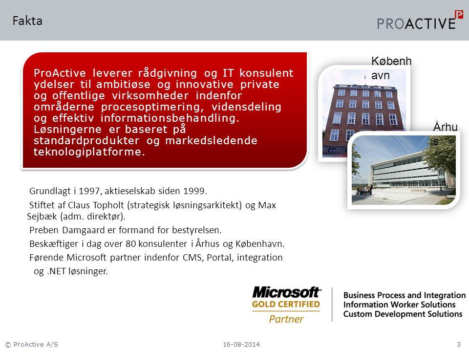 Fakta Grundlagt i 1997, aktieselskab siden 1999.