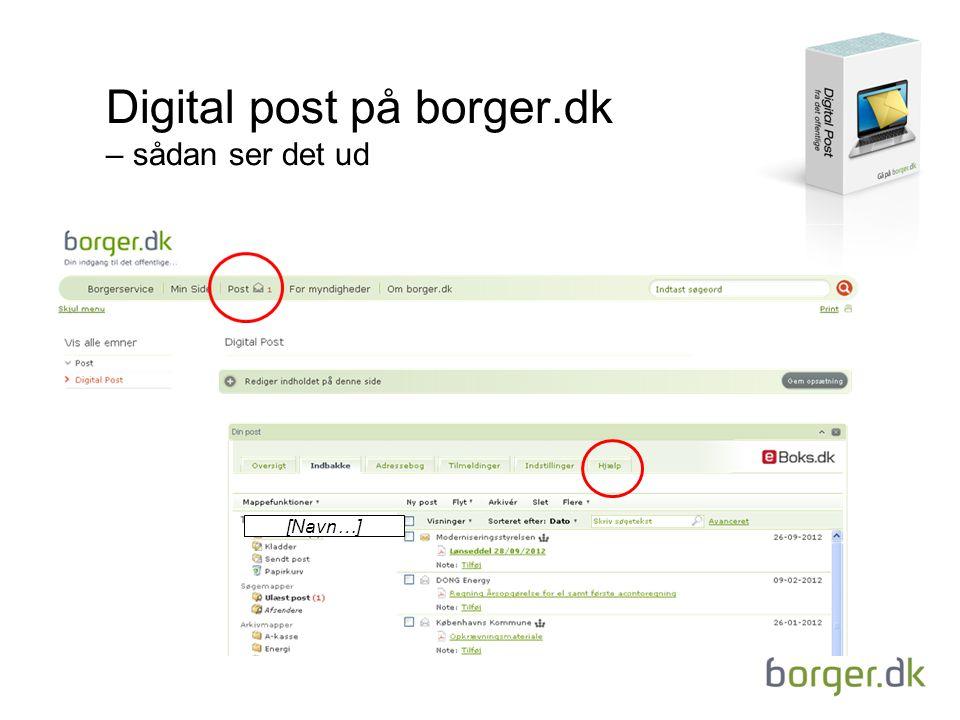 Digital post på borger.dk – sådan ser det ud [Navn…]