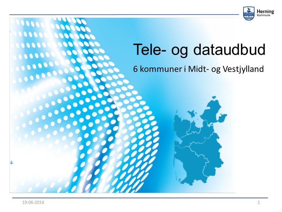 Tele- og dataudbud 6 kommuner i Midt- og Vestjylland 19-06-20141