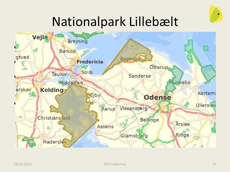Nationalpark Lillebælt En Naturpark eller en Nationalpark Bruge naturen med omtanke Hvis vi skal nyde herlighederne, skal vi beskytte dem.