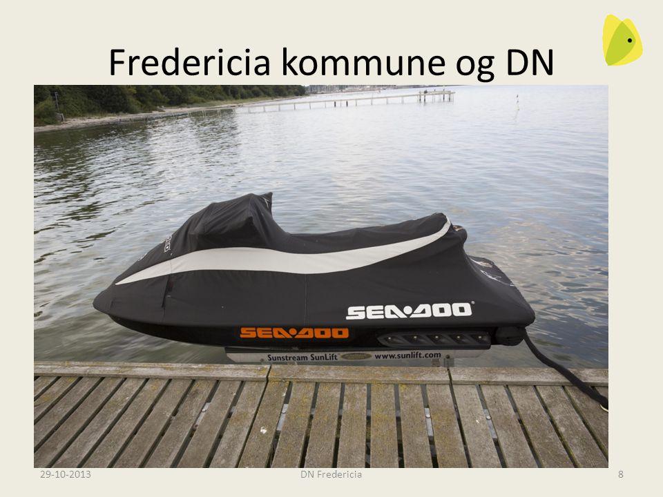 Fredericia kommune og DN 29-10-2013DN Fredericia8 Naturkvalitetsplan Bådebroer og bådehejse