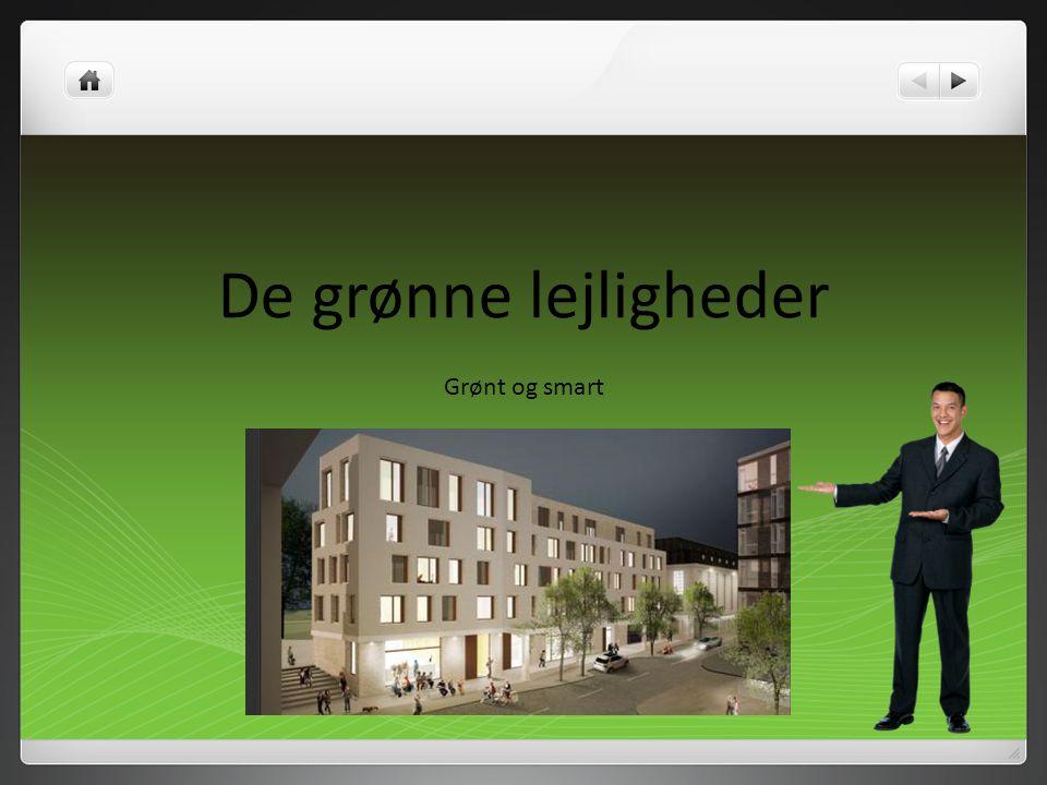 De grønne lejligheder Grønt og smart