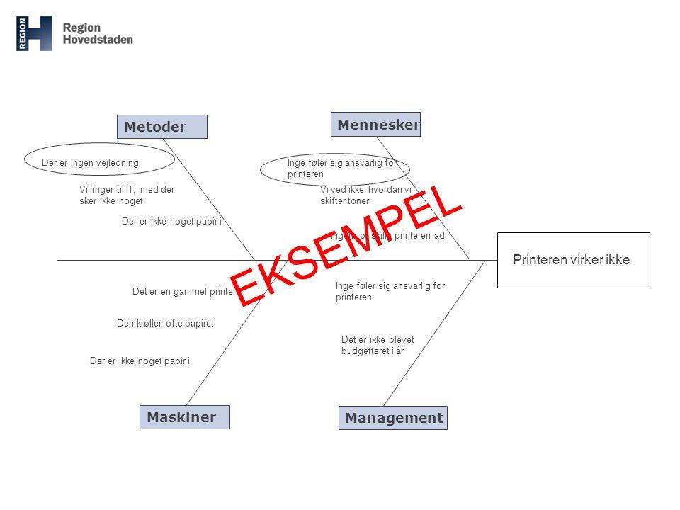 Metoder Management Mennesker Maskiner