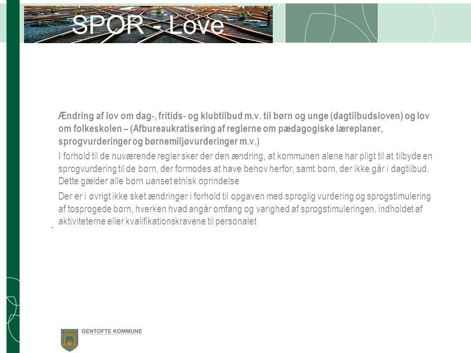 Ændring af lov om dag-, fritids- og klubtilbud m.v.