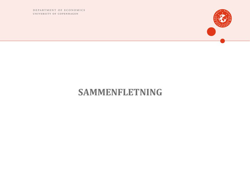 SAMMENFLETNING