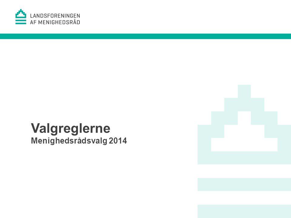 1 Valgreglerne Menighedsrådsvalg 2014