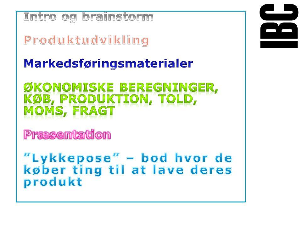 Tekstslide med bullets Brug 'Forøge / Formindske indryk' for at skifte mellem de forskellige niveauer