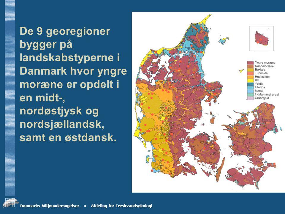 Danmarks Miljøundersøgelser Afdeling for Ferskvandsøkologi Krav til stationsnettet Omfang ca.