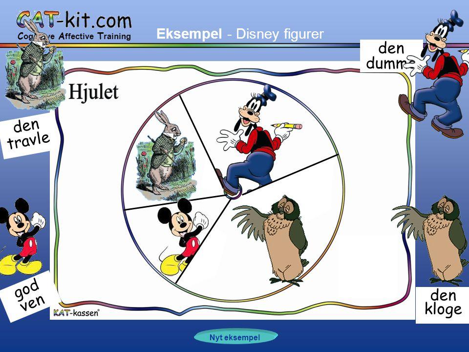 C ognitive A ffective T raining Nyt eksempel den dumme den kloge god ven den travle Eksempel - Disney figurer