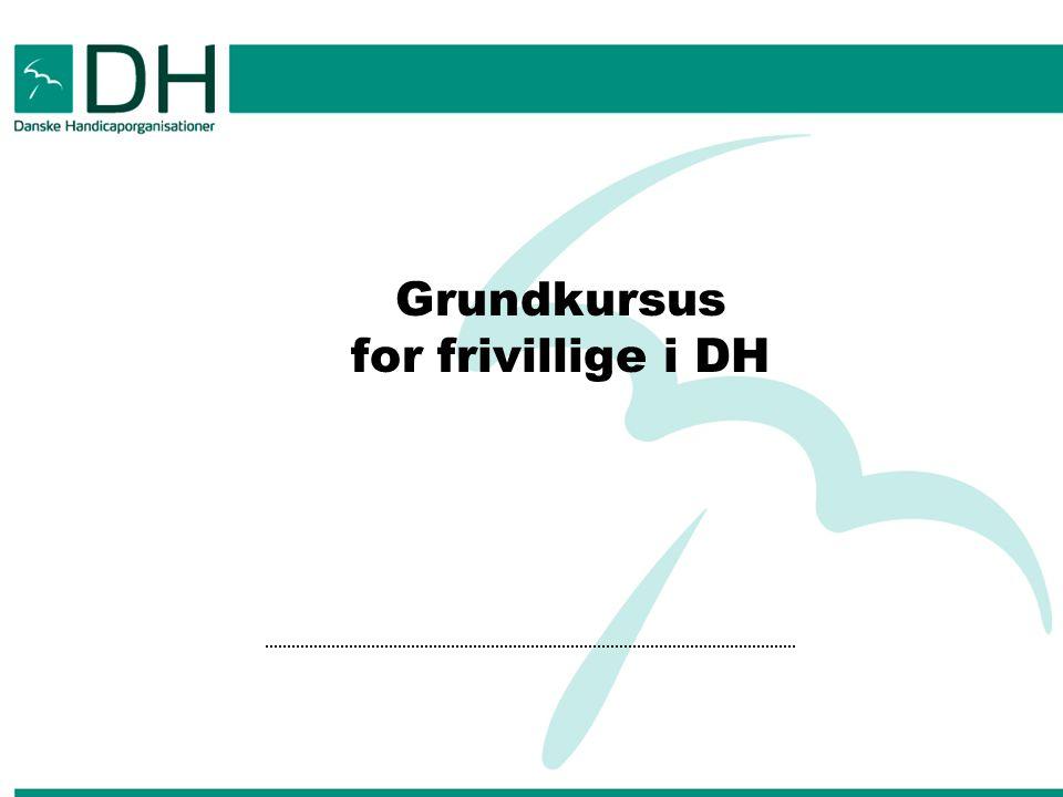 Grundkursus for frivillige i DH