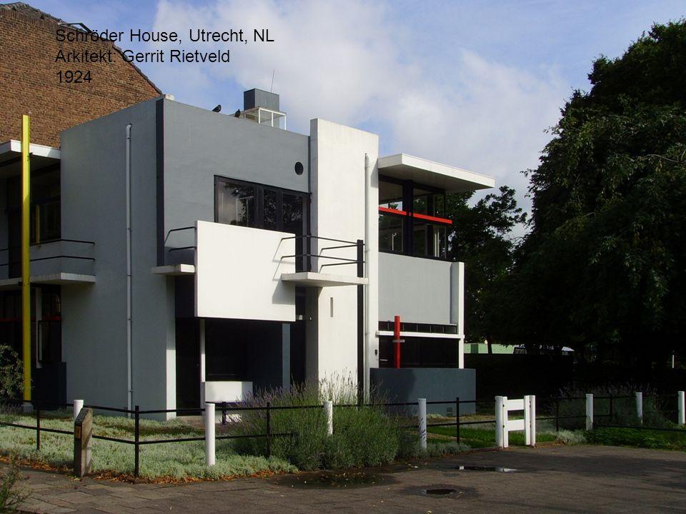 Schröder House, Utrecht, NL Arkitekt: Gerrit Rietveld 1924
