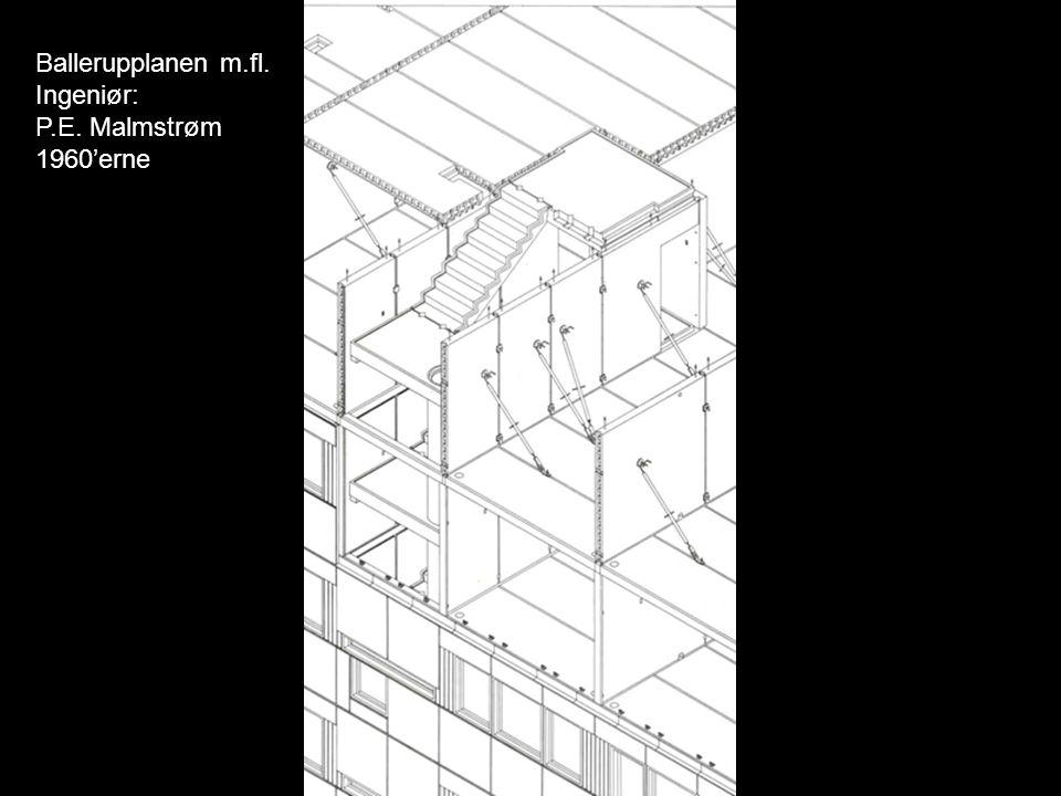 Ballerupplanen m.fl. Ingeniør: P.E. Malmstrøm 1960'erne
