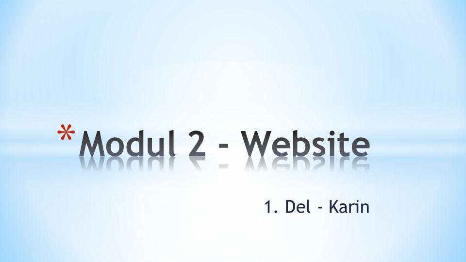 1. Del - Karin