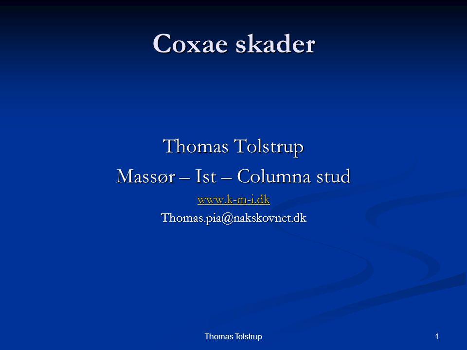 12Thomas Tolstrup Coxae skader Symptomer.Symptomer.