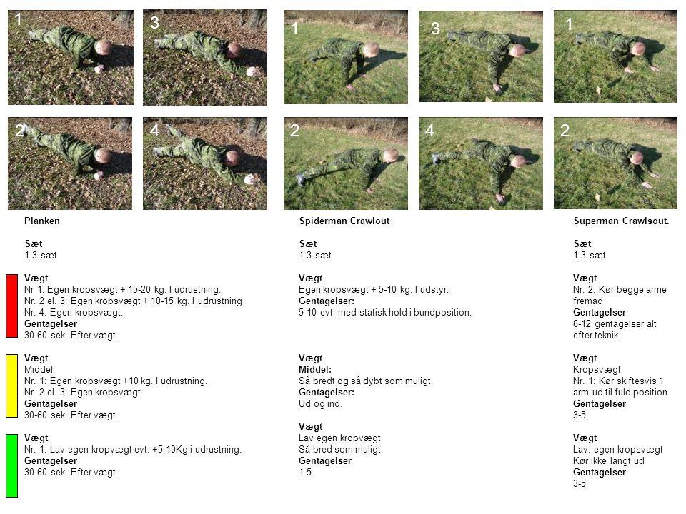 17 A 9 Rotationsøvelse (Core) Vægt: Afpasses efter styrke Gentagelser: 10-15 Beskrivelse: Rotationsøvelsen gennemføres med lav intensitet rundt om hovedet.