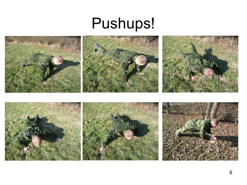 10 C 6 Hop øvelse (Core) Vægt: Gentagelser: 10-15 Beskrivelse: Stå i udgangsstilling og udføre øvelsen som et hop fra samlede hænder og føder, til slutstilling med sprætte hænder og ben.