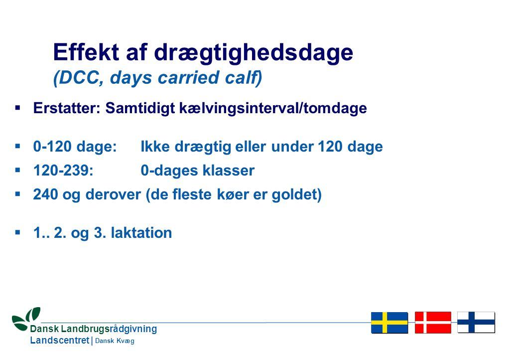 17 Dansk Landbrugsrådgivning Landscentret | Dansk Kvæg Heterogen varians  Ændret varians over tid – langt det vigtigste  Forskelle i varians mellem besætninger