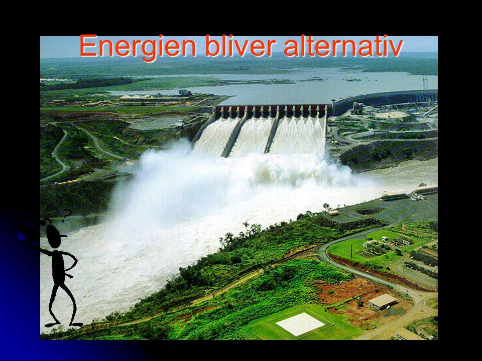 Energien bliver alternativ