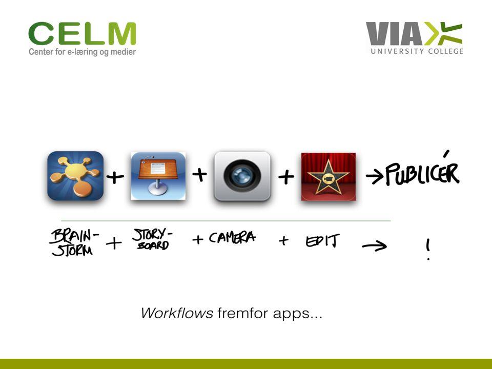 Hvad arbejder vi med Udviklingsprojektet i Odder om iPads (2011- 2012)