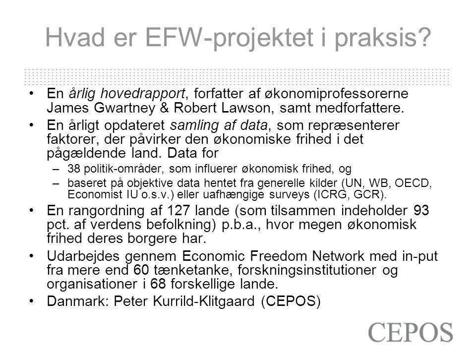 Hvad er EFW-projektet i praksis.