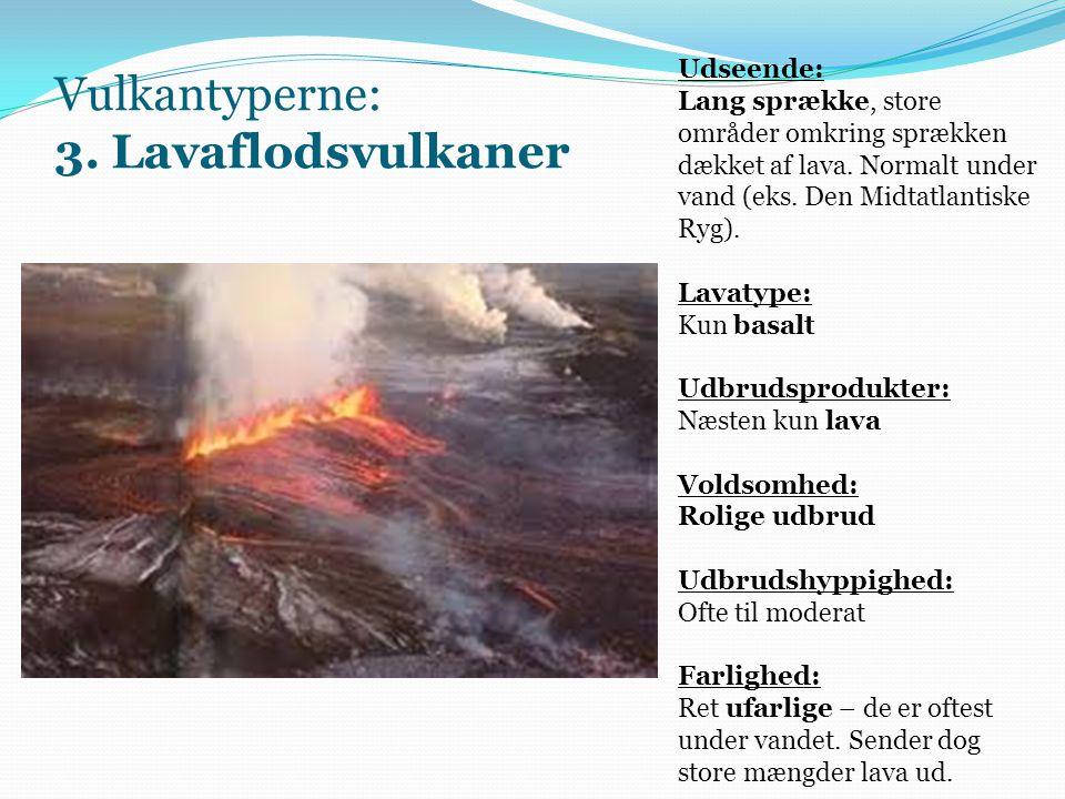 Vulkantyperne: 3.
