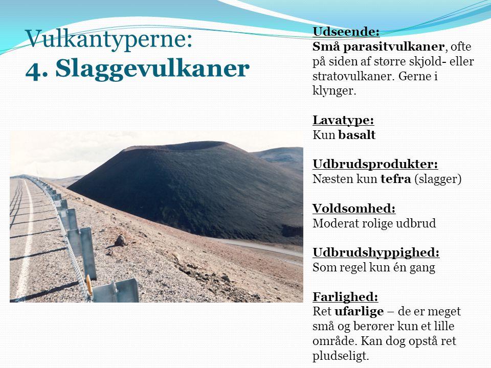 Vulkantyperne: 4.