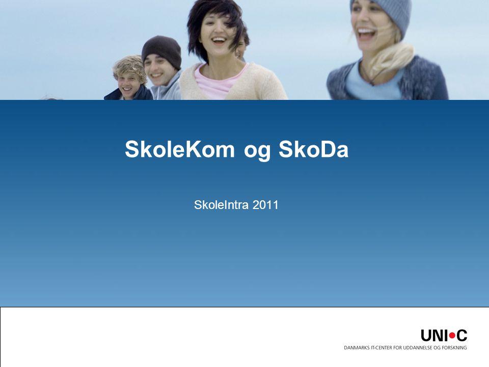 SkoleIntra 2011 SkoleKom og SkoDa
