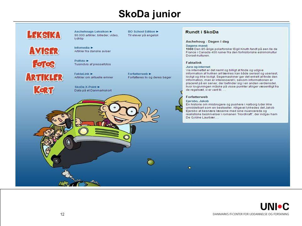 SkoDa junior 12