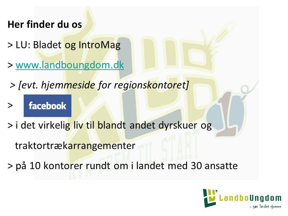 Her finder du os > LU: Bladet og IntroMag > www.landboungdom.dk > [evt.