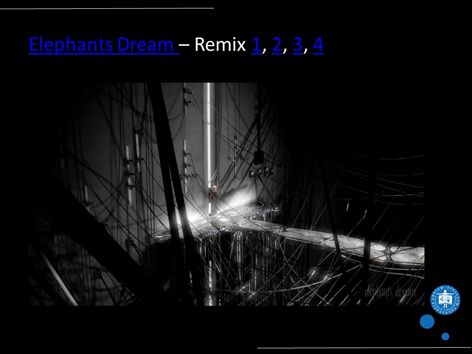 Elephants Dream Elephants Dream – Remix 1, 2, 3, 41234